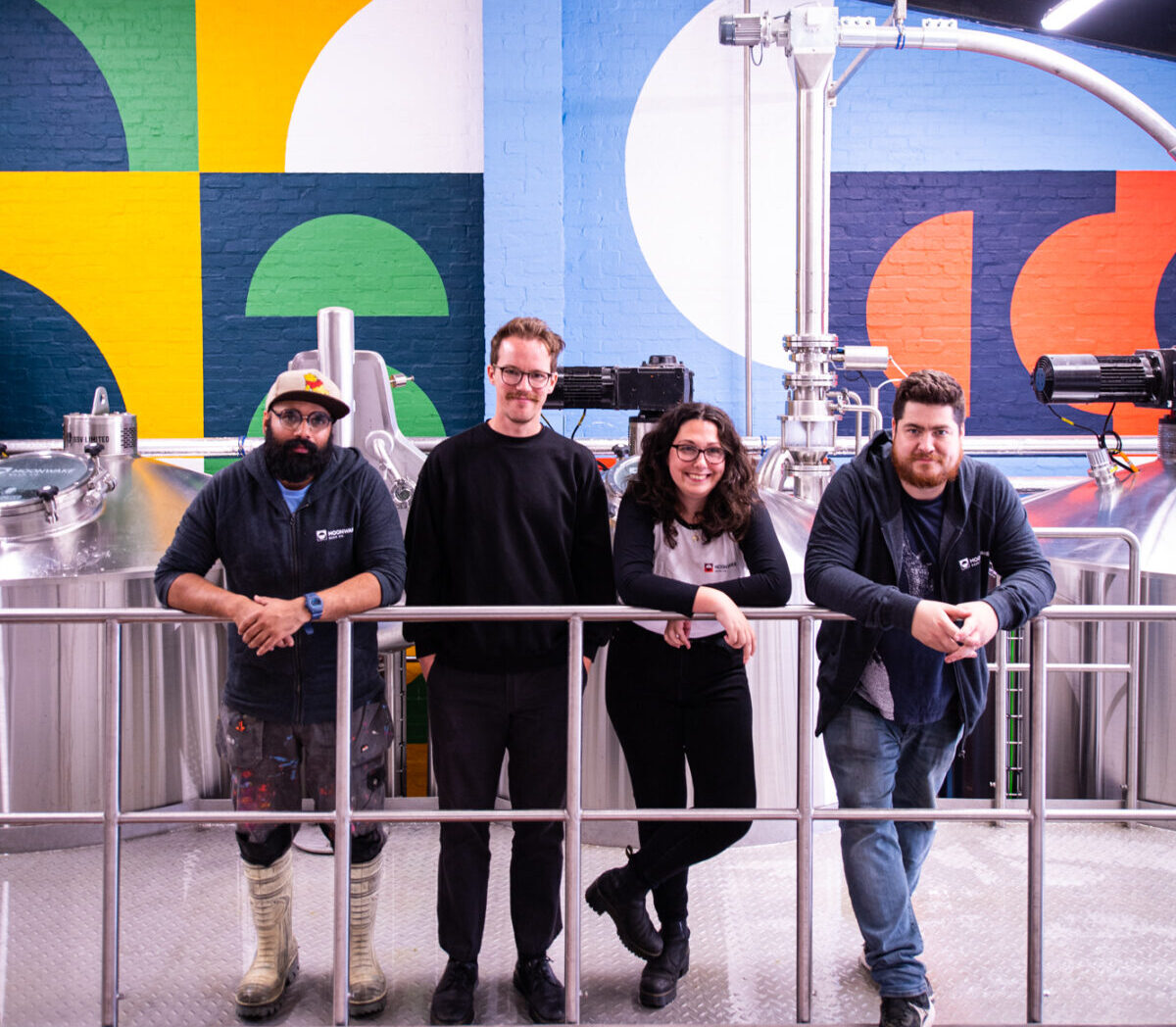 Moonwake Team - Craft Beer Brewery Leith Edinburgh