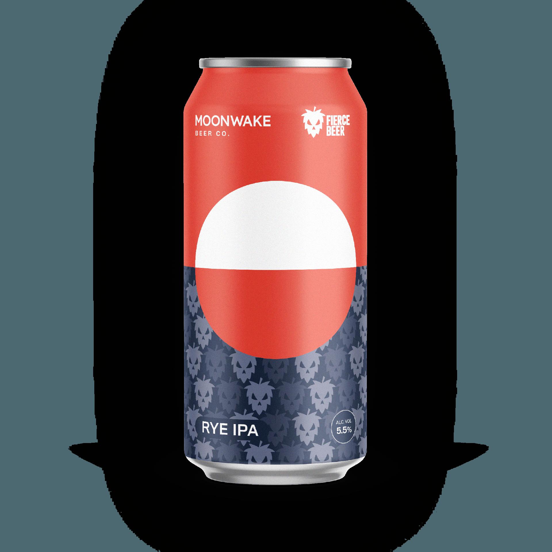 Moonwake Fierce Beer Collab Brew Red Rye IPA