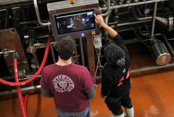 Fierce Beer Collaboration Brew Day Rye IPA